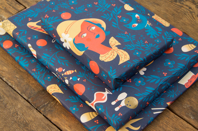 NOBROW Wrapping Paper